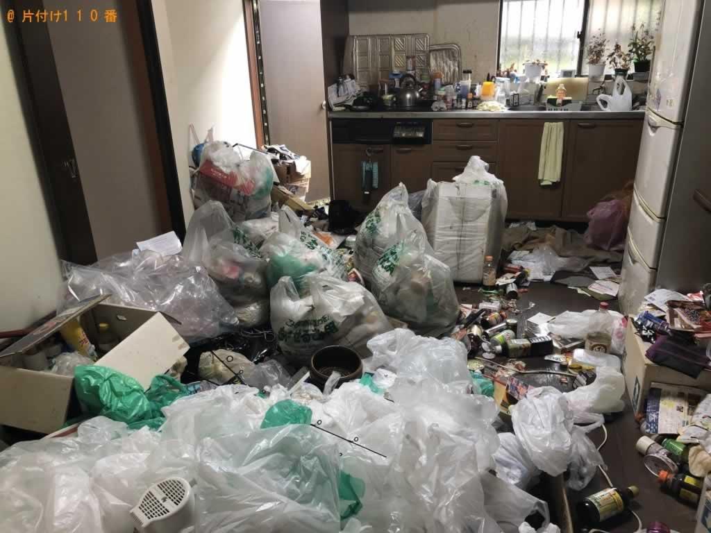 ゴミ引き取り回収施工前