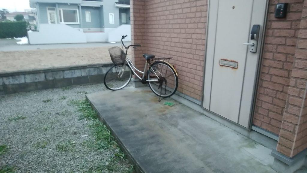 自転車1台の回収!指定日時にお伺いし、お喜びいただけました!