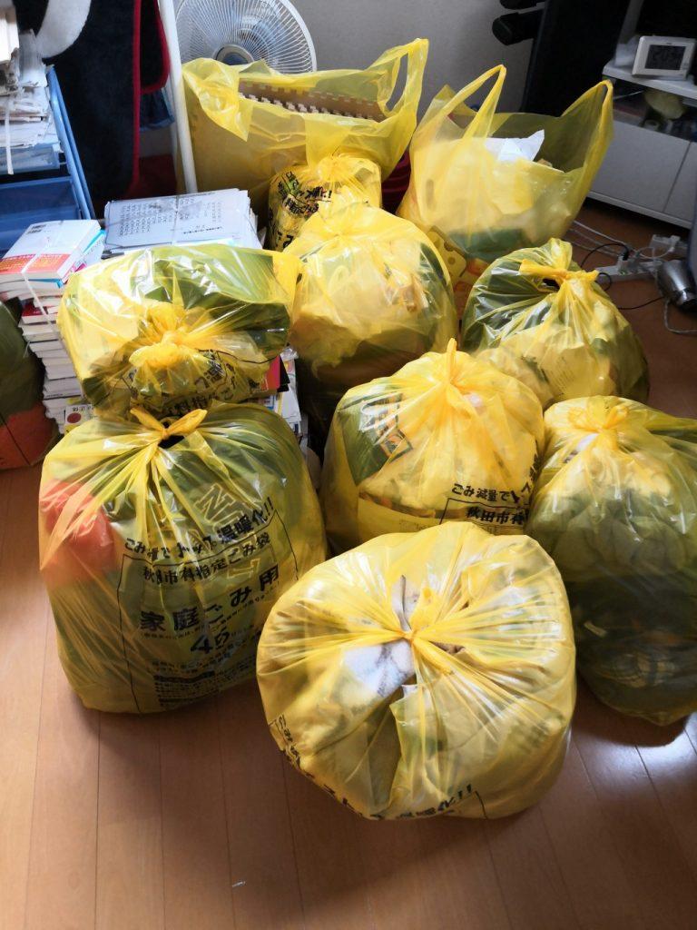 【岬町】遺品整理でガスコンロ、衣装ケース、プリンターの回収