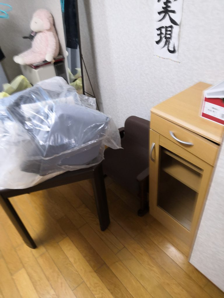 【河南町】遺品整理で冷蔵庫、洗濯機など不用品回収