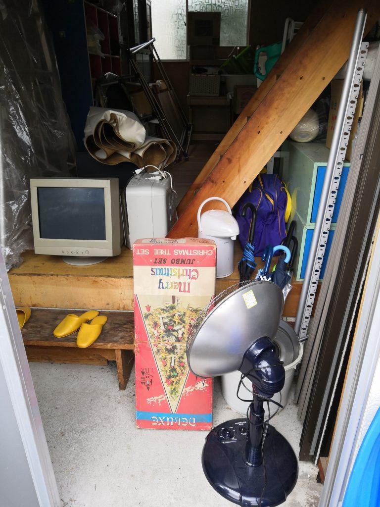 【八郎潟町】大量の不用品回収☆軽トラパックでスピーディーに一挙に片付きお喜び頂けました。