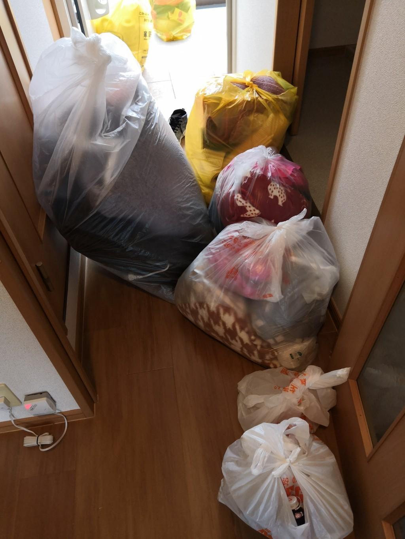 【秋田市】カーペットなど軽トラック1台程度の不用品回収☆不用品を一気に処分でき、満足していただけました!