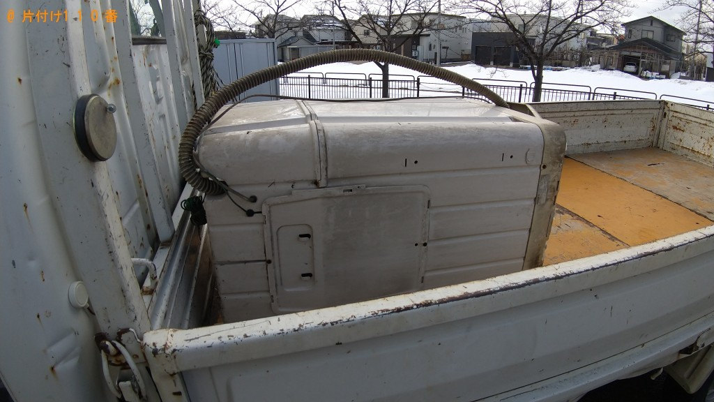 【横手市】洗濯機の回収・処分ご依頼 お客様の声
