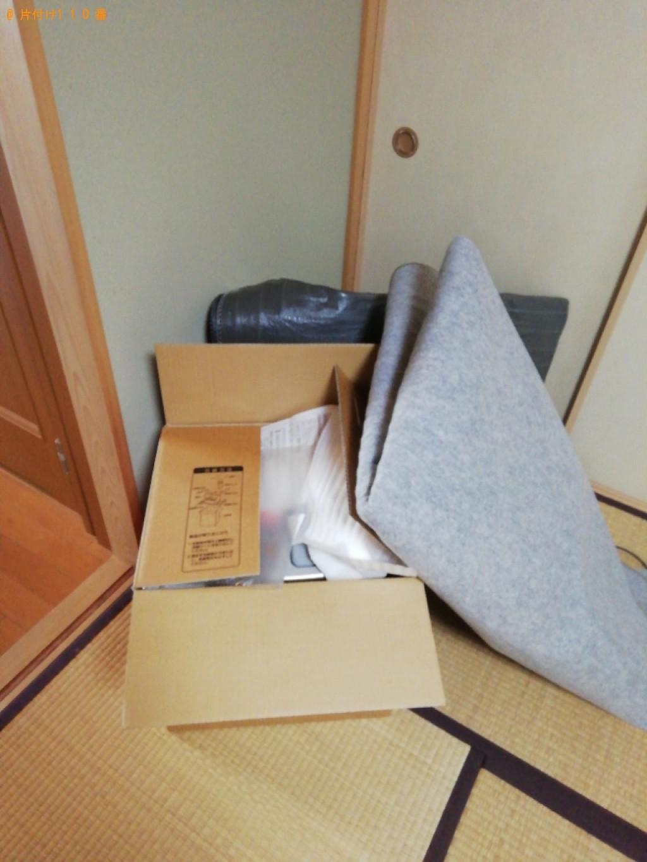 【秋田市】ホットカーペット、タンス、椅子、石油ストーブ等の回収