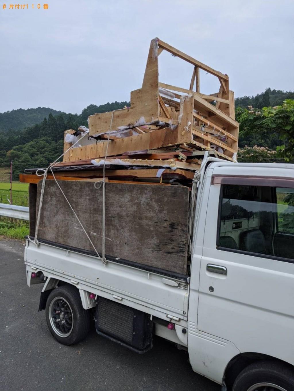 【武蔵村山市】遺品整理に伴いタンス等の回収・処分ご依頼 お客様の声