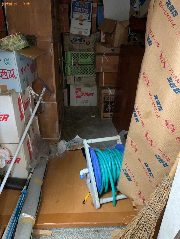 【秋田市】洗濯機、扇風機、電子レンジ、ミニコンポ等の回収・処分