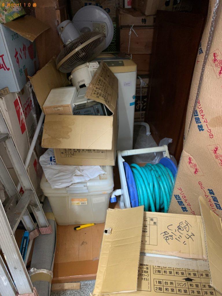【福生市】遺品整理に伴い洗濯機、扇風機、電子レンジ、ミニコンポ等の回収・処分