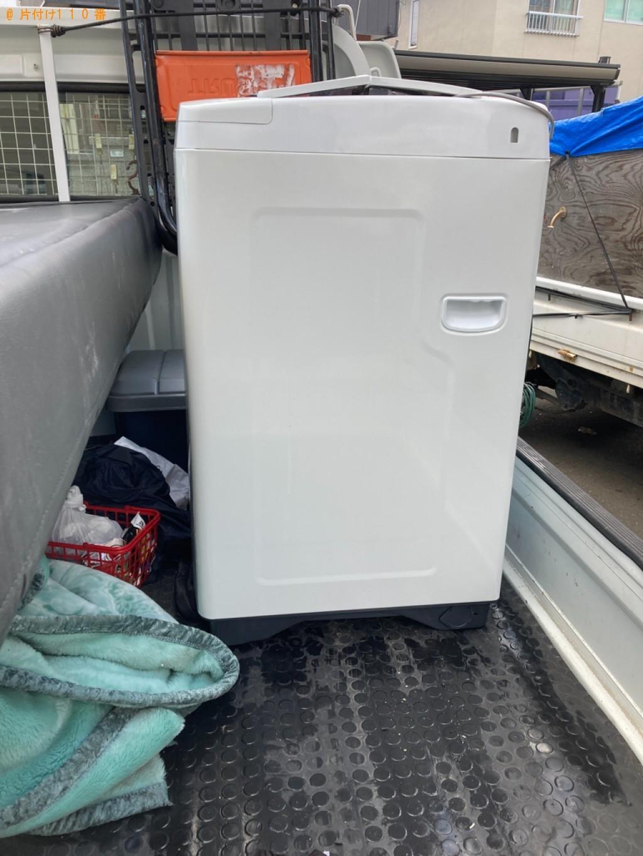 【秋田市】洗濯機の回収・処分ご依頼 お客様の声