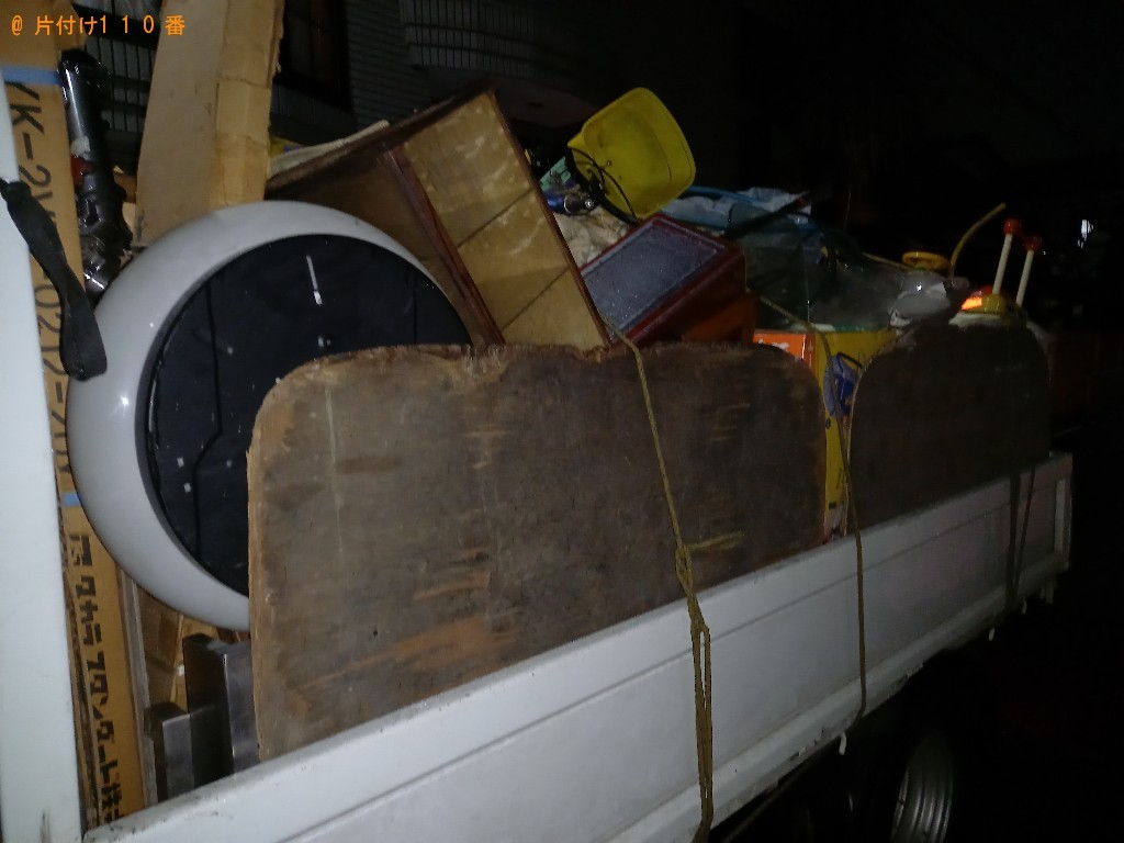 自転車、家具、家電、布団等の回収・処分ご依頼