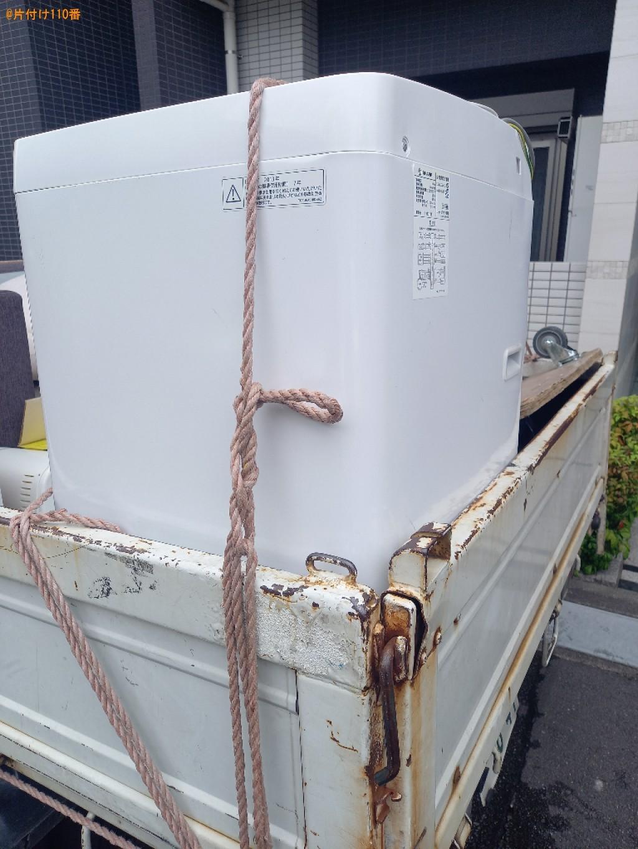 洗濯機、セミダブルベッドの回収・処分ご依頼 お客様の声