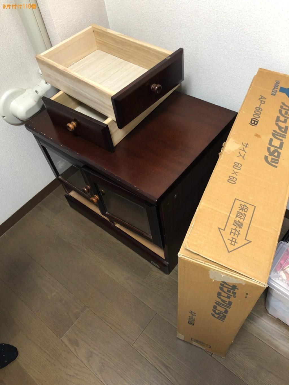 テレビ台、布団、木製パレットの回収・処分ご依頼 お客様の声