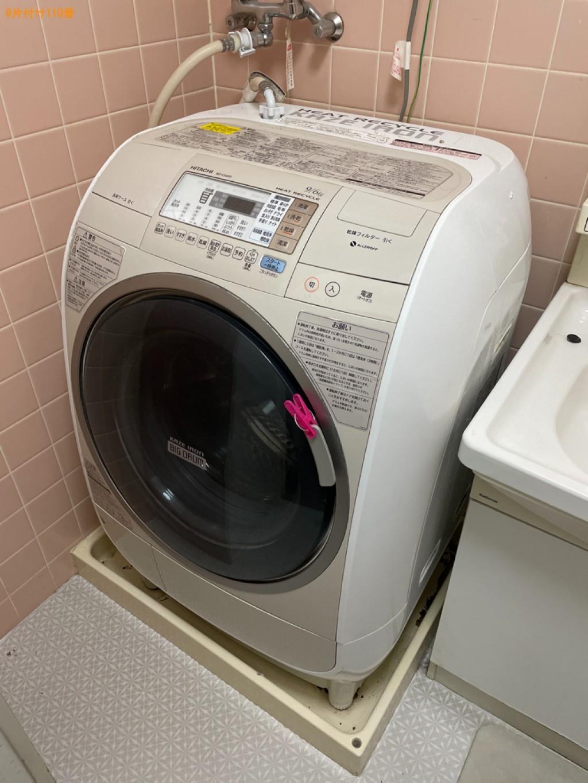 ドラム式乾燥機付き洗濯機の回収・処分ご依頼 お客様の声